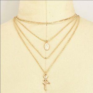 Jewelry - Saint Rose • Multi Layered Necklace